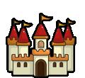 Castles coloring pages