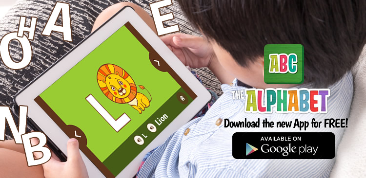 The Alphabet for kids App