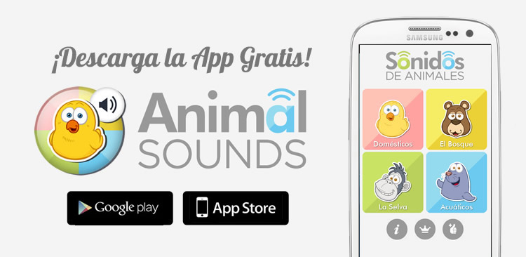 Animal sounds APP for children